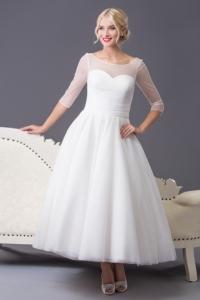 Divina £675 (full length £795) | Wedding Dresses | Perfection Bridal Swansea